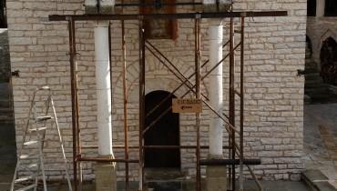Επισκευή στο μοναστήρι Τσούκας