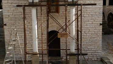 Реконструкция монастыря Tsouka