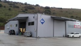 Επέκταση μεταλλικού κτιρίου- Εnergy Oil